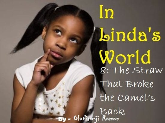 IN LINDA'S WORLD VIII: The Straw That Broke The Camel's Back