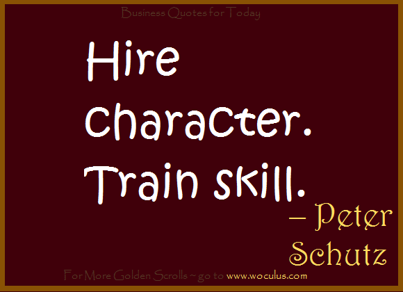 Your Character is Key - To the Men Building Great Businesses