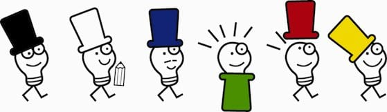 Make Better Business Decisions with  Edward De Bono's Six Thinking Hats