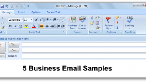 Five (5) Effective Business Email Samples You Can Emulate