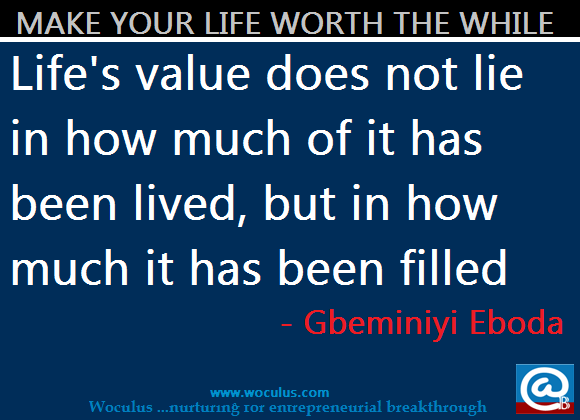 What's the Value of Life?