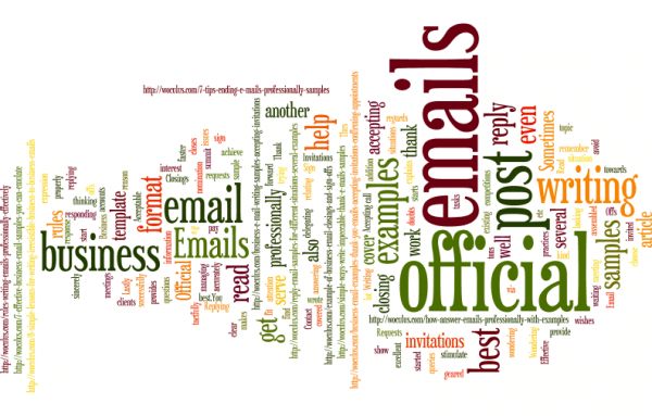 Several Official Email Samples for the Business Environment
