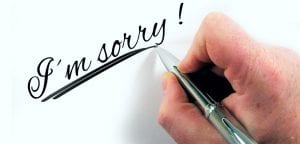 Mending a Business Relationship by Apologizing via Email